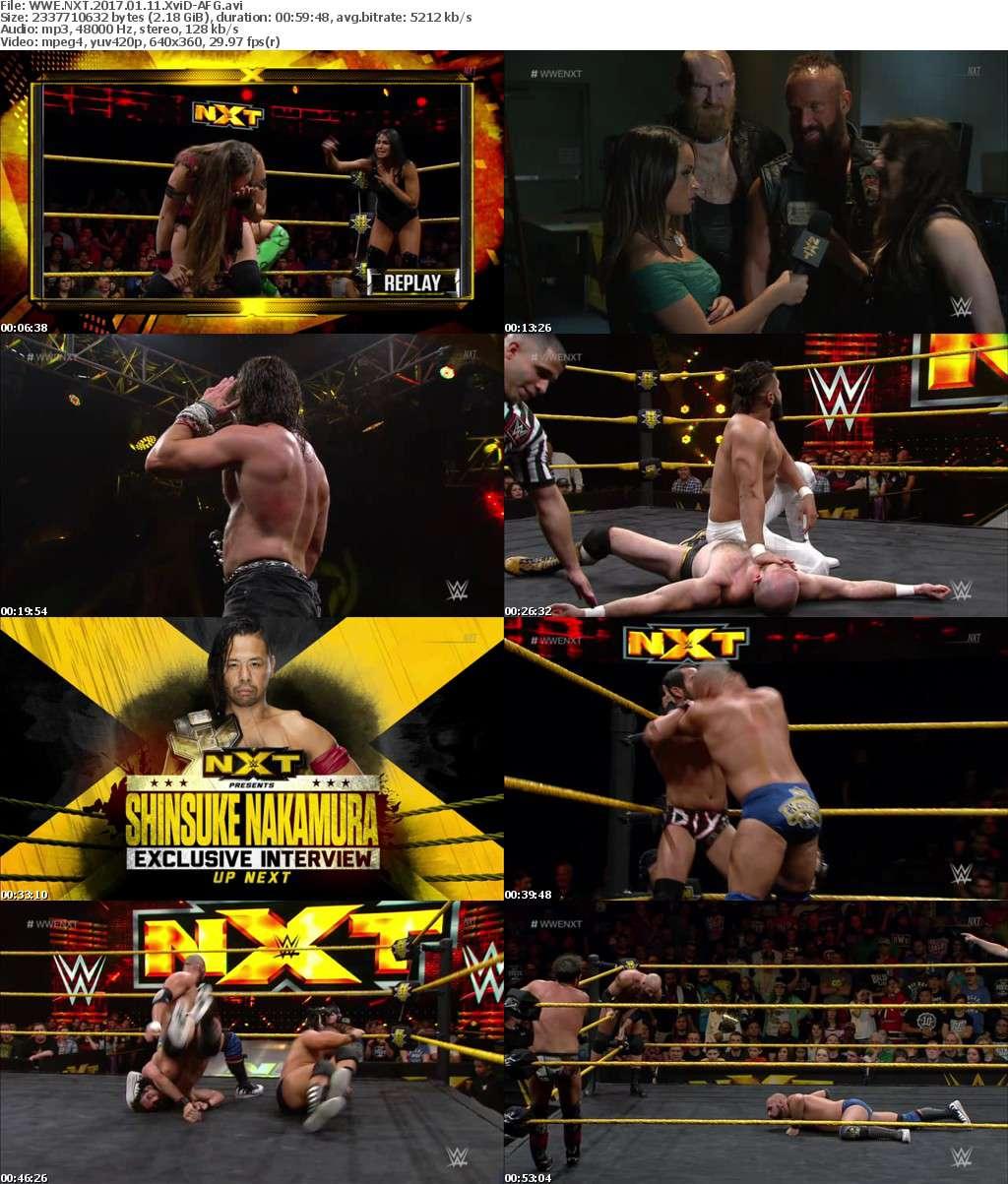 WWE NXT 2017 01 11 XviD-AFG