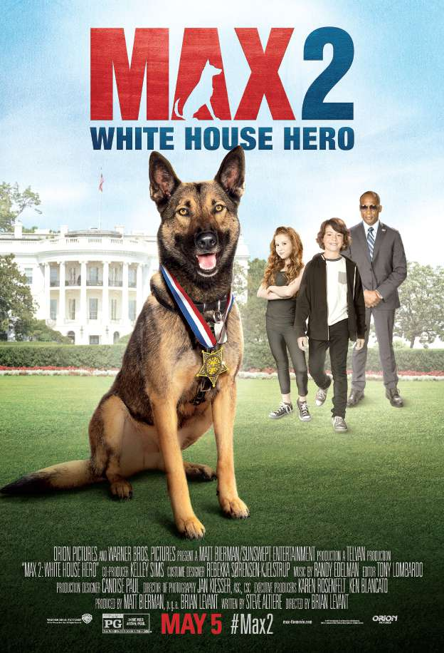 Max 2 White House Hero 2017  BRRip 600 MB  iExTV