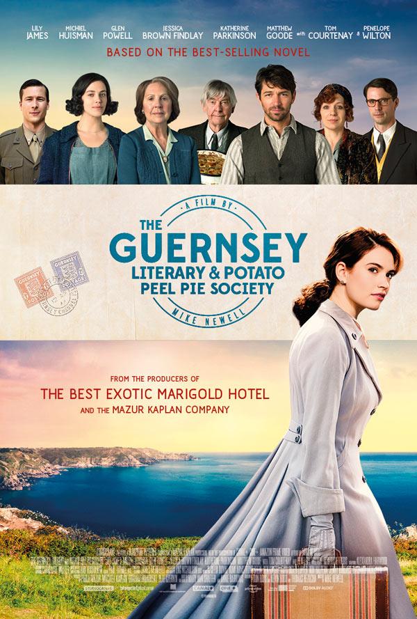 The Guernsey Literary and Potato Peel Pie Society 2018 720p BRRip x264 ESub MW