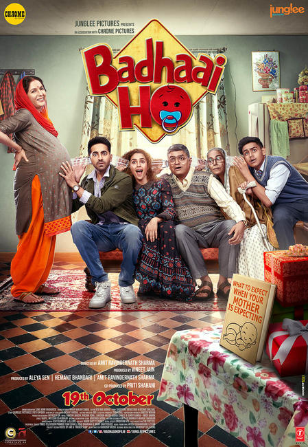 BADHAAI HO (2018) 720P UNTOUCHED WEB DL - AVC - AAC - DTONE EXCLUSIVE