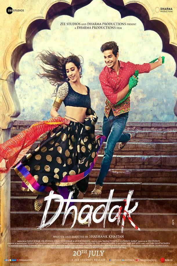 Dhadak 2018 [BluRay] [720p] YIFY