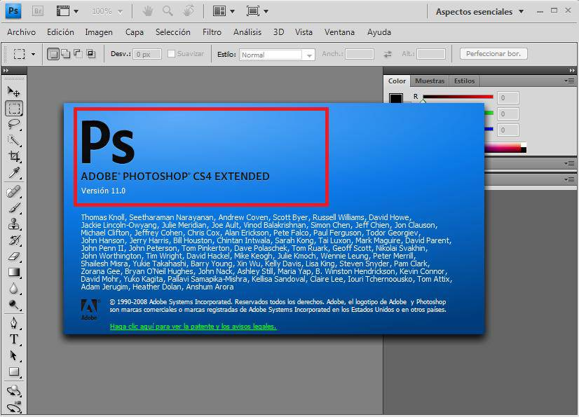 Descargar adobe photoshop cs4 portable 32 bits