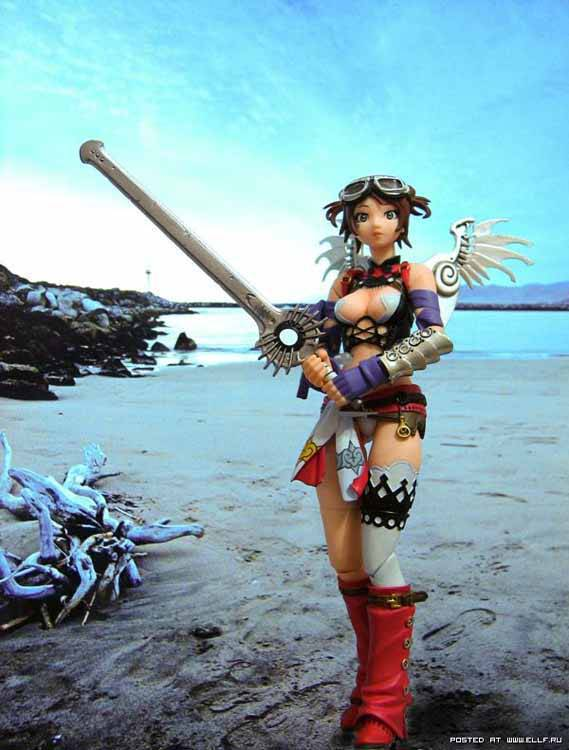 Figuras a escala de chicas anime