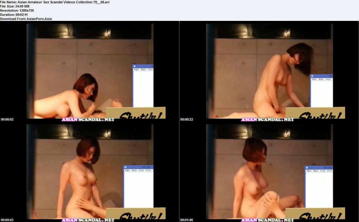 Asian Amateur Sex Scandal Videos Collection