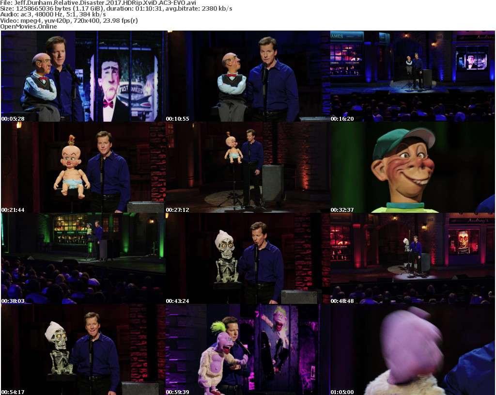 Jeff Dunham Relative Disaster 2017 HDRip XviD AC3-EVO