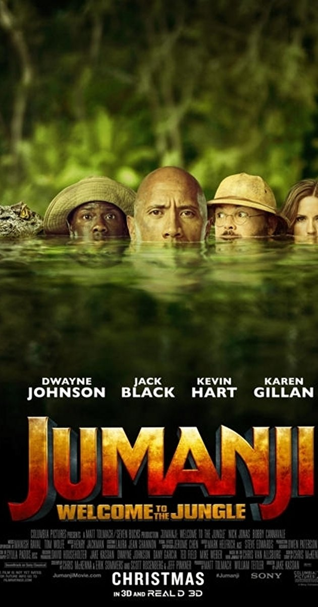 Jumanji Welcome to the Jungle 2017 1080p BluRay x264-SPARKS