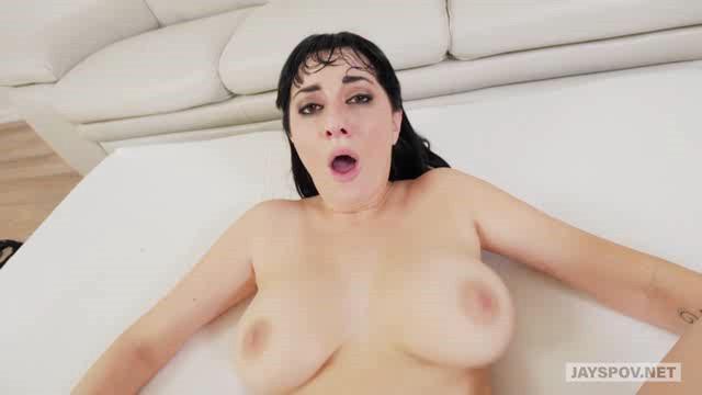 JaysPOV 18 03 19 Allasandra Snow MILF With Big Natural Tits Fucked By Perv Photographer XXX
