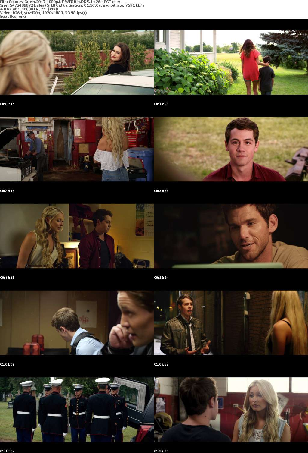Country Crush 2016 1080p NF WEBRip DD5 1 x264-FGT