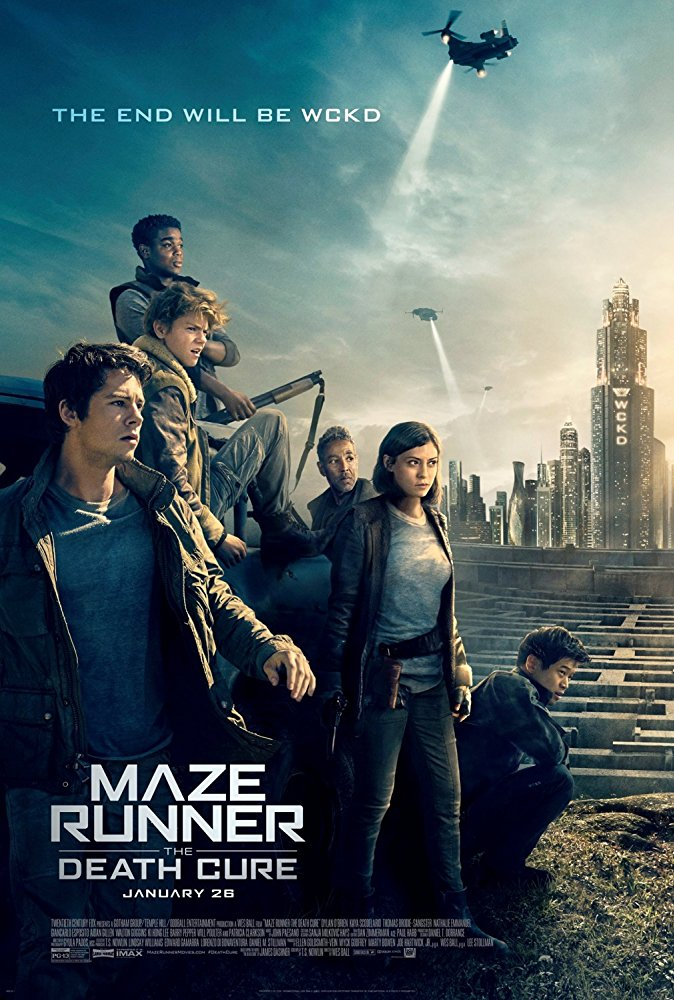 Maze Runner The Death Cure 2018 720p BRRip HEVC MkvCage