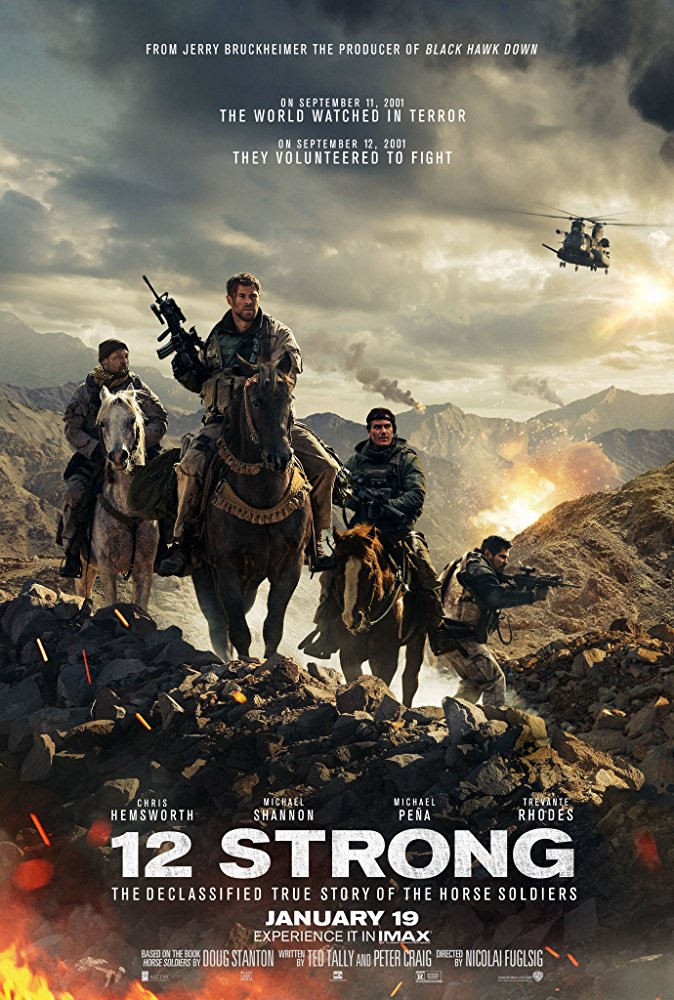 12 Strong 2018 BDRip AC3 X264-CMRG