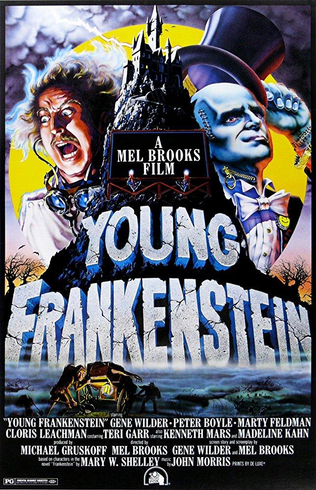 Young Frankenstein 1974 720p BRRip x264-x0r
