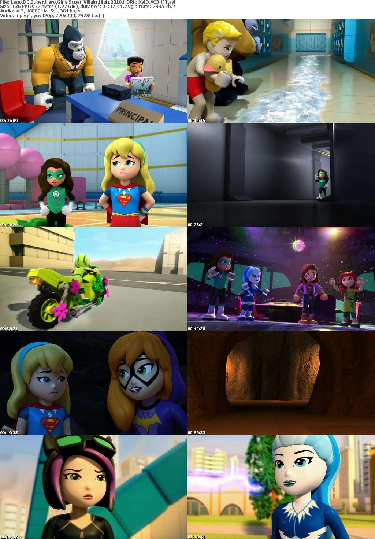 Lego DC Super Hero Girls Super-Villain High (2018) HDRip XviD AC3-iFT