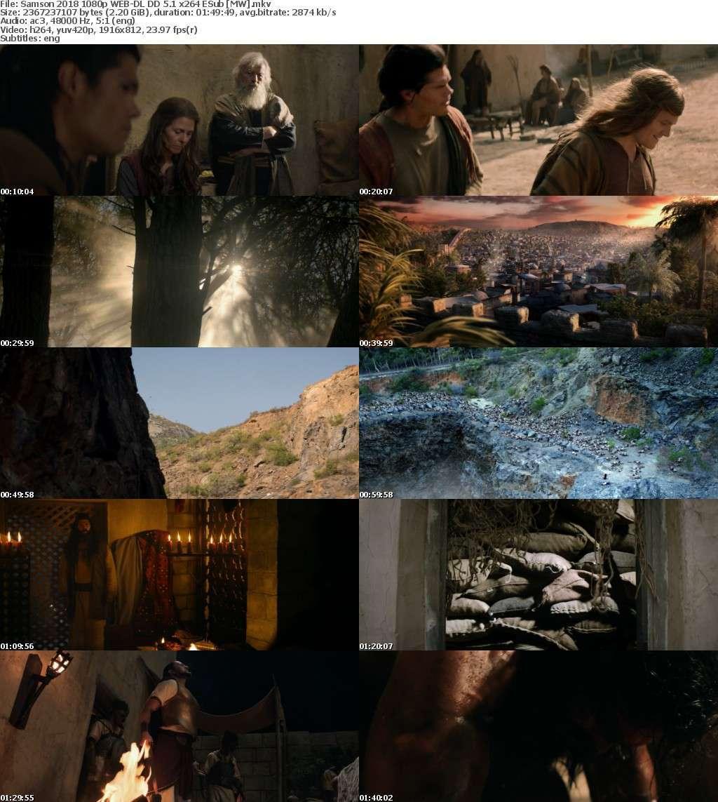 Samson (2018) 1080p WEB-DL DD 5.1 x264 ESub-MW