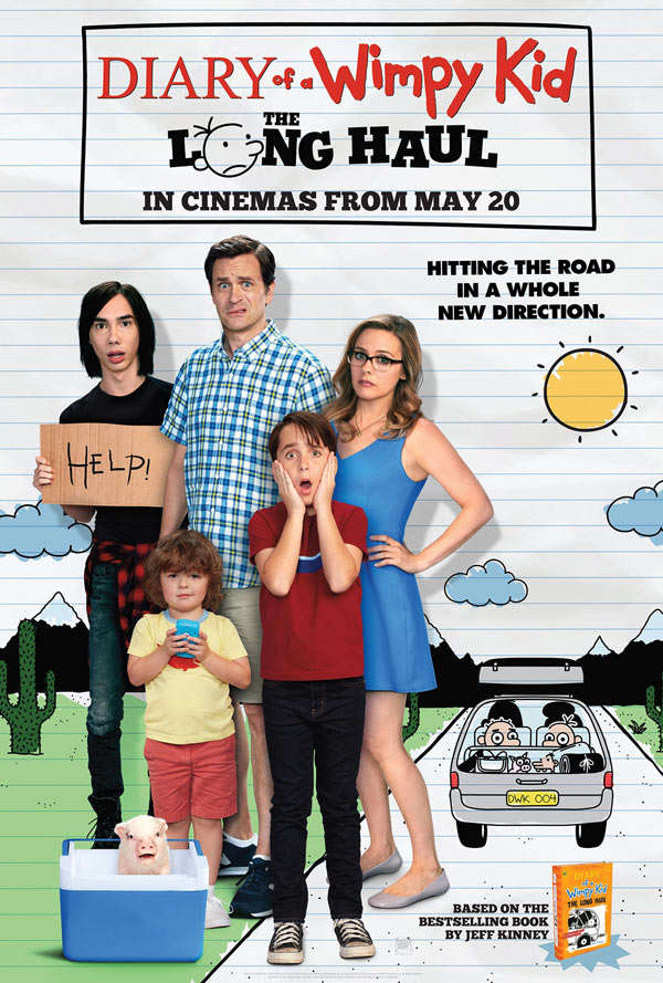 Diary of a Wimpy Kid The Long Haul 2017 BRRip XviD MP3-XVID