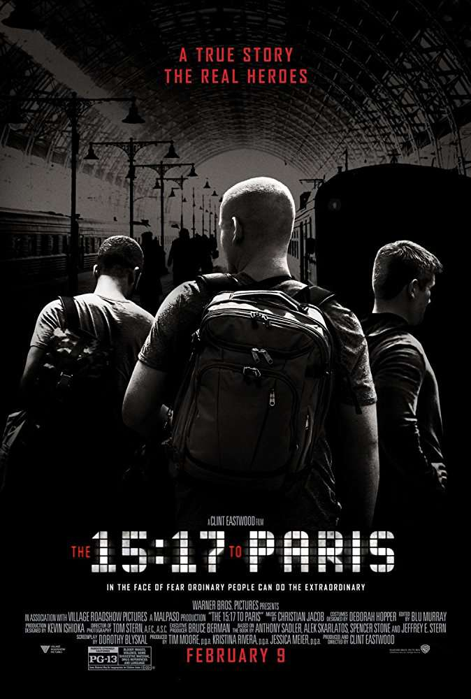 The 15 17 to Paris 2018 BRRip XviD AC3-EVO[TGx]