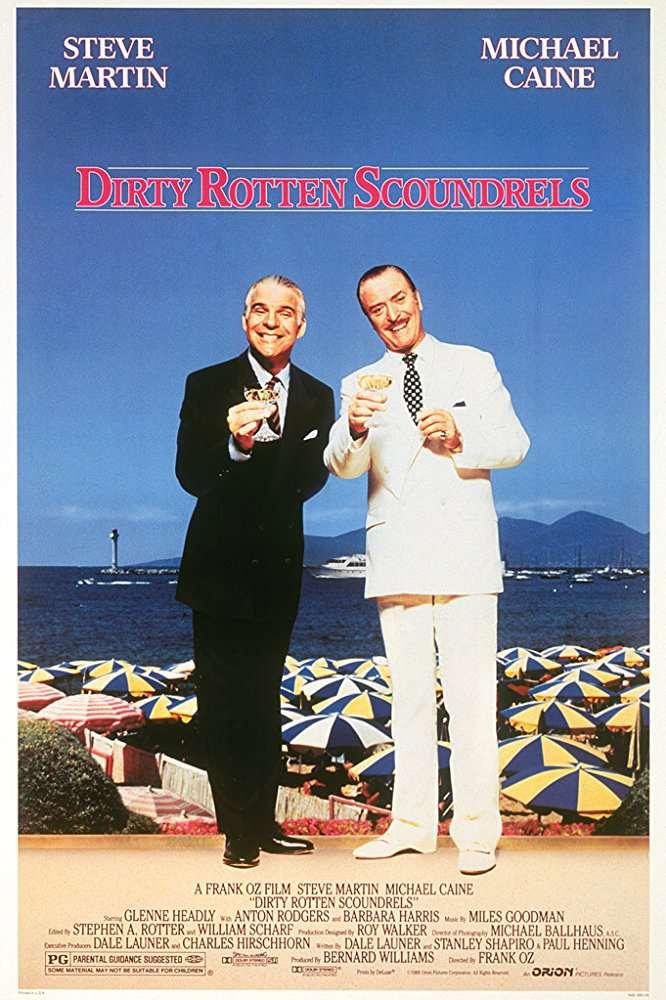 Dirty Rotten Scoundrels 1988 BluRay 10Bit 1080p DD5 1 H265-d3g