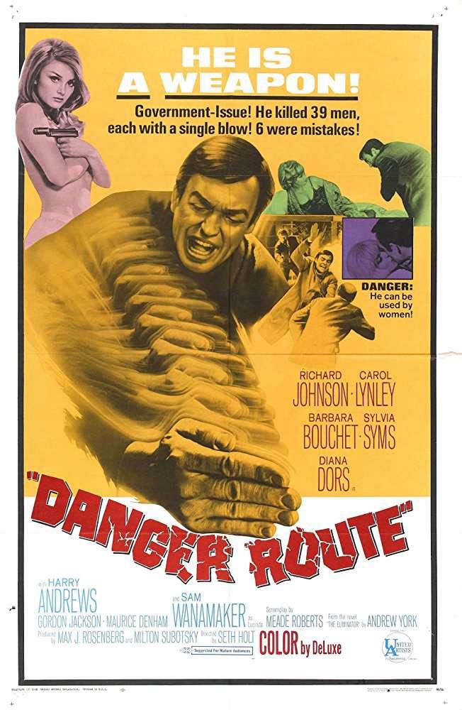 Danger Route 1967 DVDRip XViD