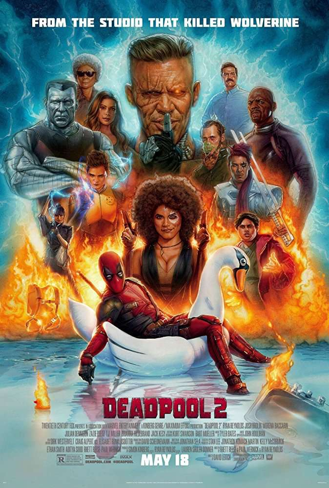 Deadpool 2 2018 English HDTS- 720p - x264 - AC3 - 2 4GB