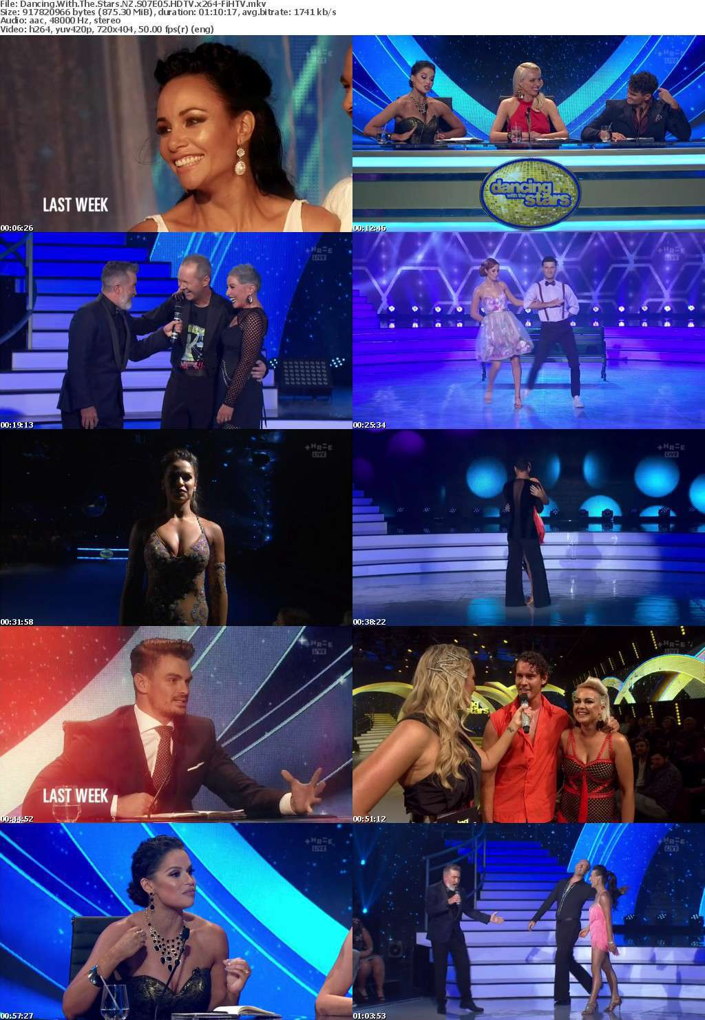 Dancing With The Stars NZ S07E05 HDTV x264-FiHTV