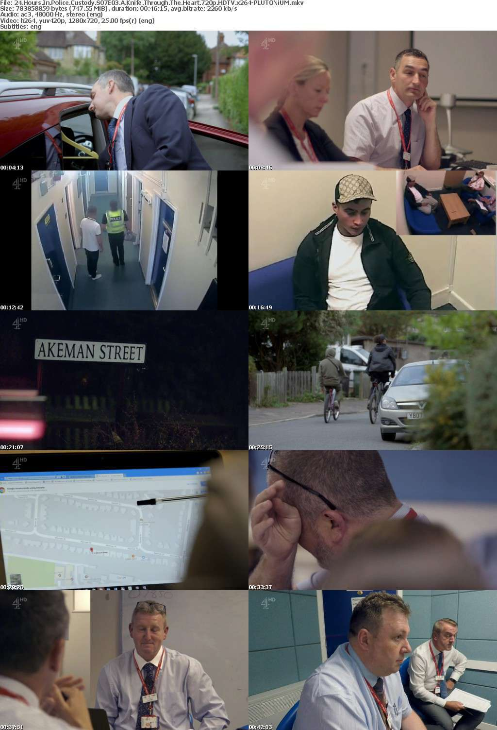 24 Hours In Police Custody S07E03 A Knife Through The Heart 720p HDTV x264-PLUTONiUM