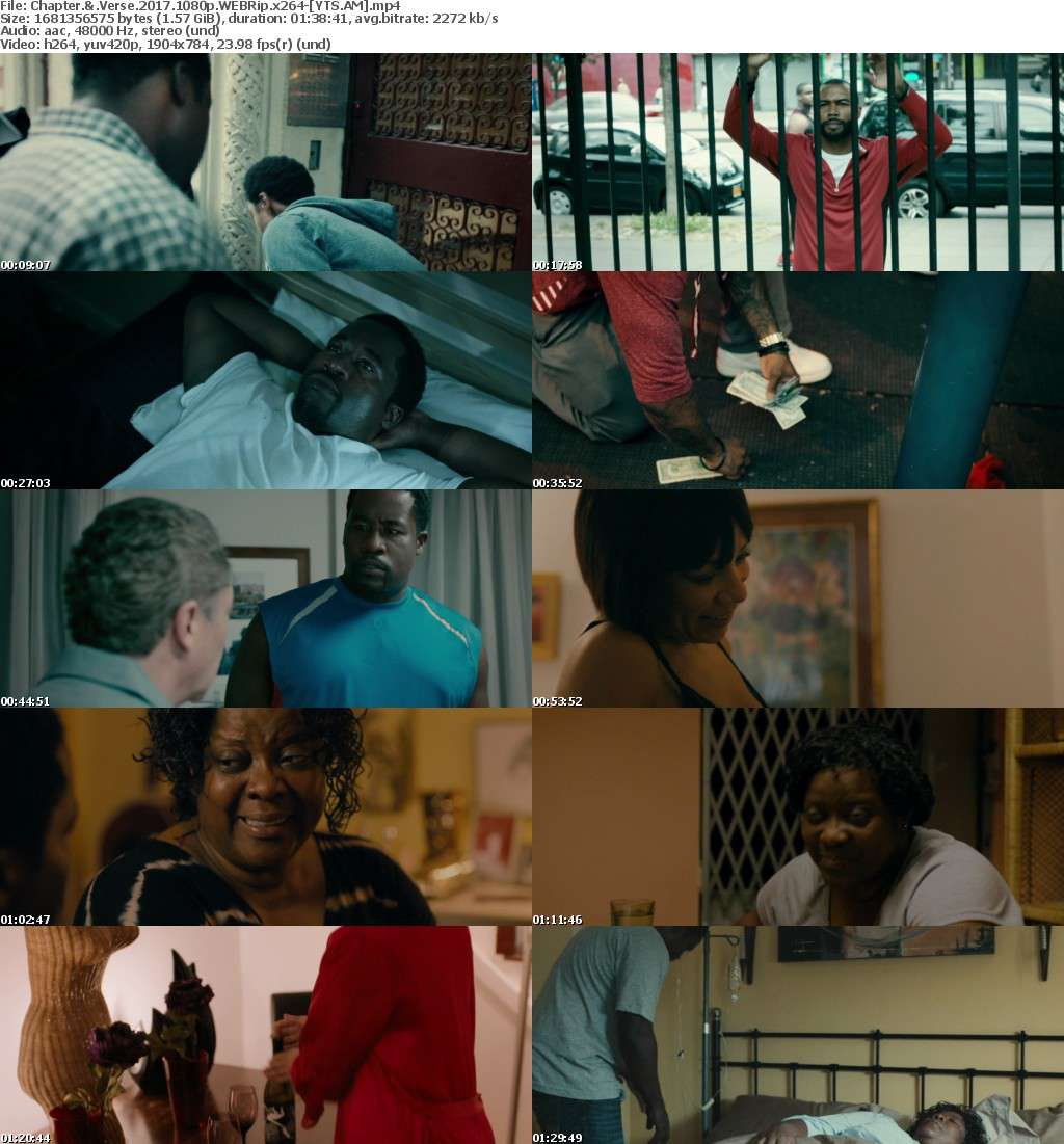 Chapter & Verse (2017) [WEBRip] [1080p] YIFY