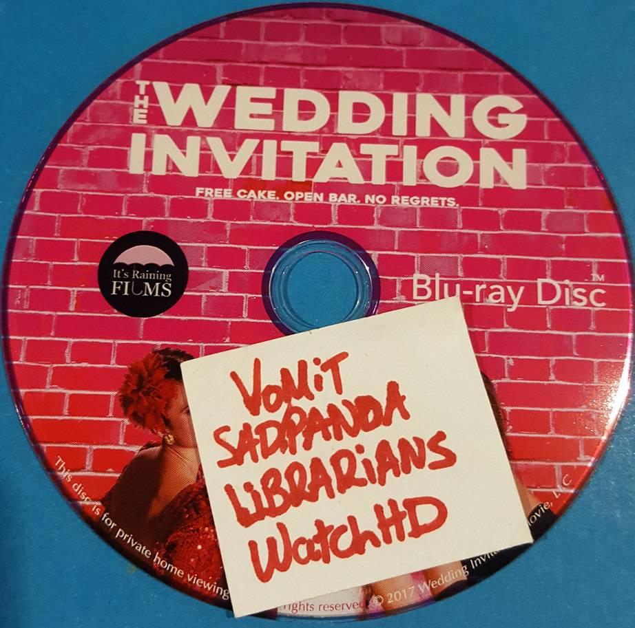 The Wedding Invitation 2017 720p BluRay x264-SADPANDA