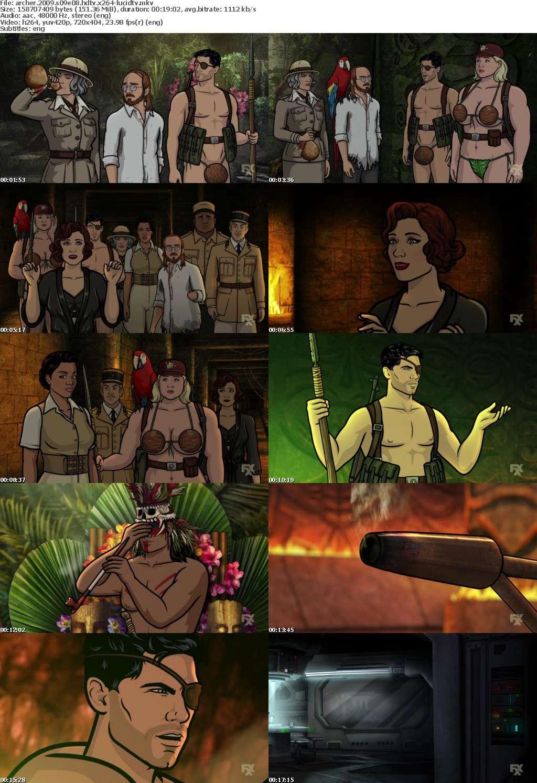 Archer 2009 S09E08 HDTV x264-LucidTV