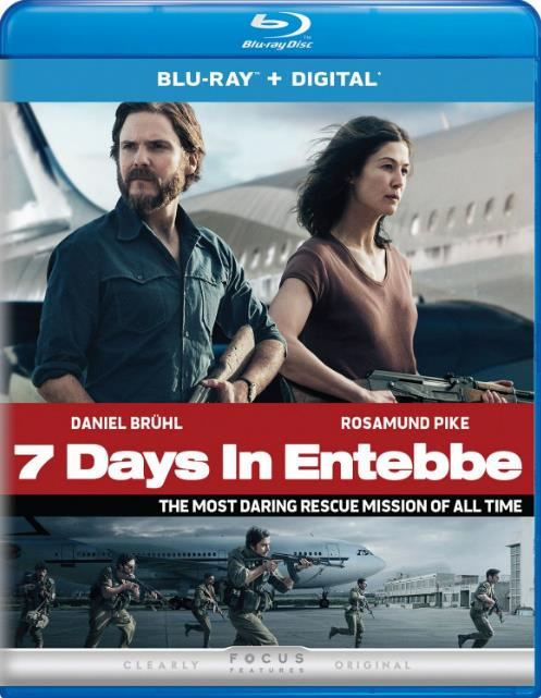 7 Days in Entebbe (2018) BRRip AC3 X264-CMRG
