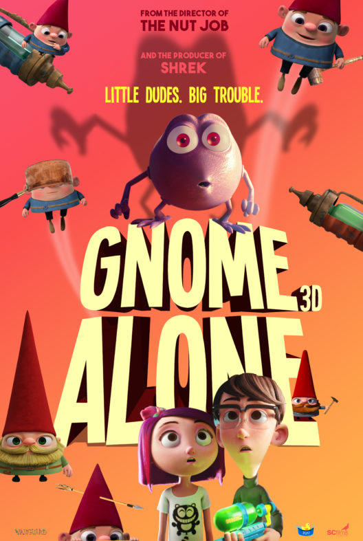 Gnome Alone (2017) BDRip XviD AC3-EVO