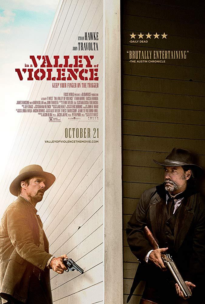 In a Valley of Violence 2016 720p BluRay x264 Dual Audio Hindi DD 5 1 - English 2 0 ESub MW
