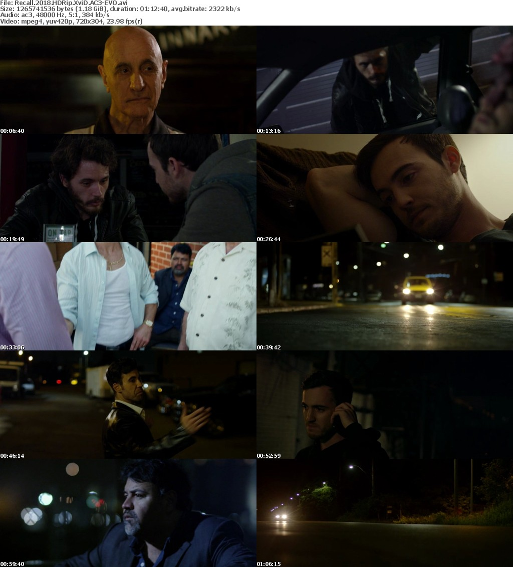 Recall (2018) HDRip XviD AC3-EVO