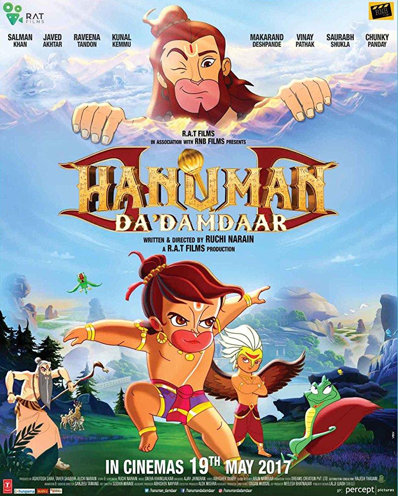 Hanuman da damdaar 2017 720p HD 5 1 Hindi GOPISAHI