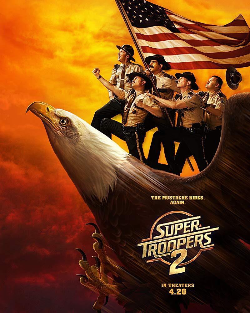 Super Troopers 2 2018 720p BRRip X264 AC3-EVO