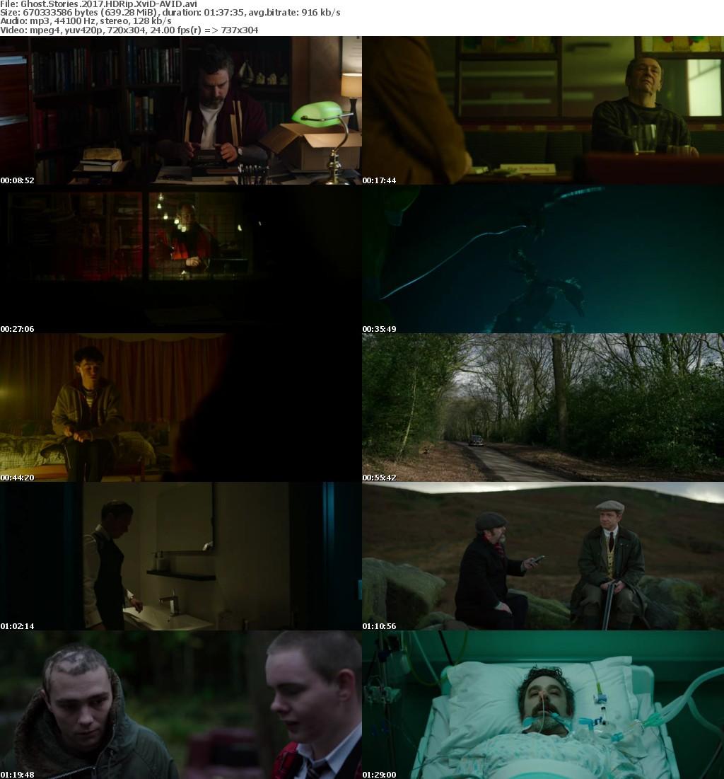 Ghost Stories (2017) HDRip XviD-AVID