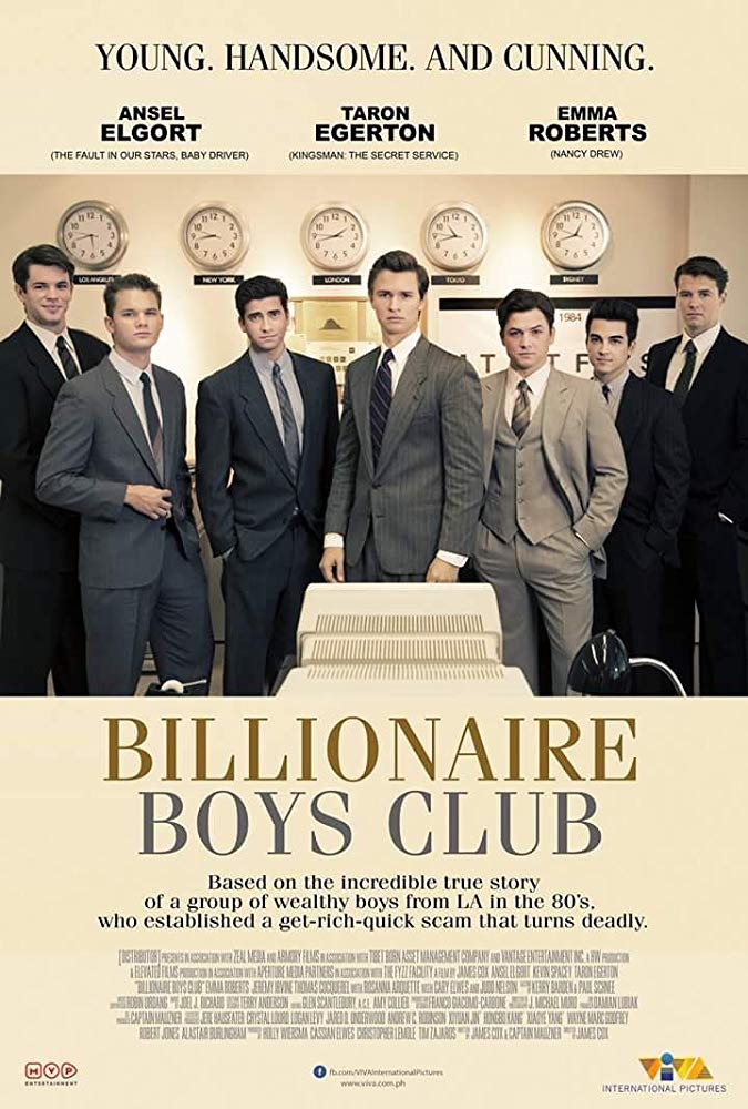 Billionaire Boys Club (2018) HDRip AC3 X264-CMRG