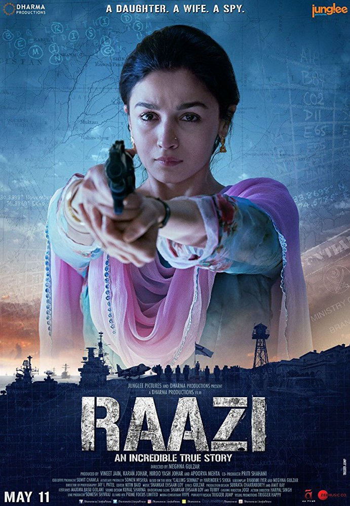 Raazi 2018 Hindi 720p WEB-DL x264 AAC ESubs - LOKI - M2Tv
