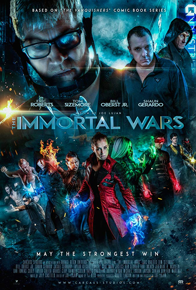 The Immortal Wars (2018) HDRip AAC 2.0 x264 MW