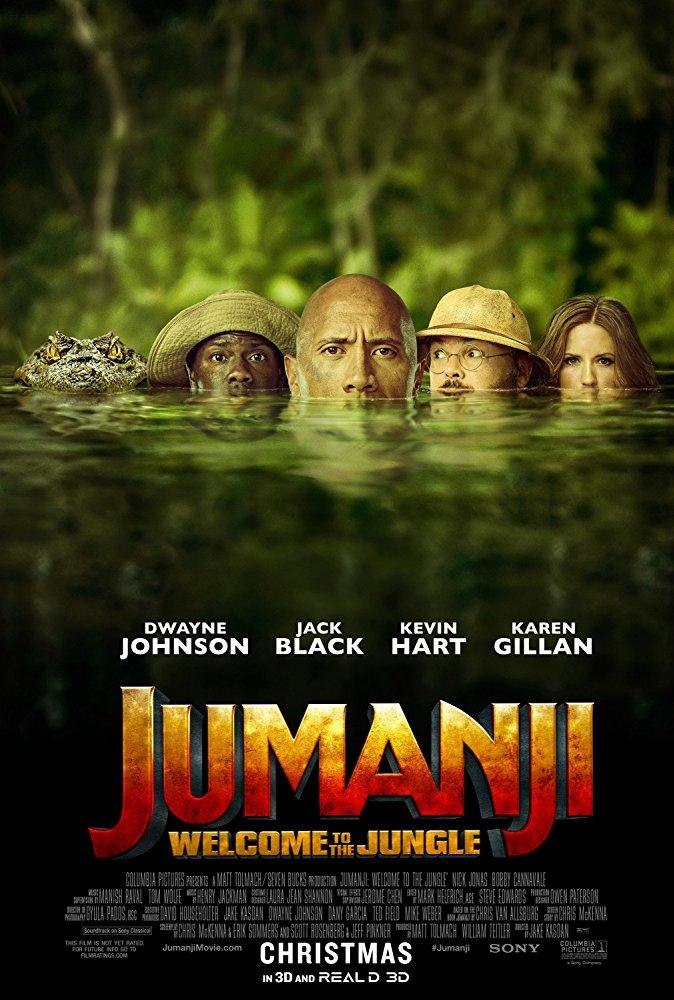 Jumanji Welcome to the Jungle 2017 1080p BluRay x264 Dual Audio Hindi DD 5 1- English DD 5 1 ESub MW