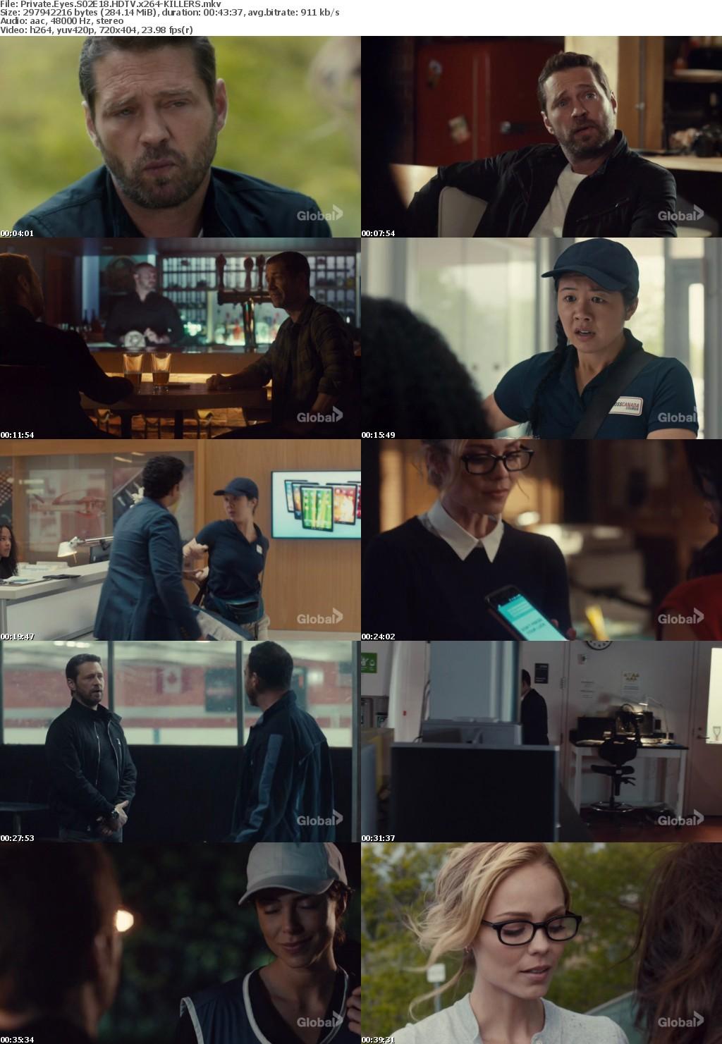 Private Eyes S02E18 HDTV x264-KILLERS