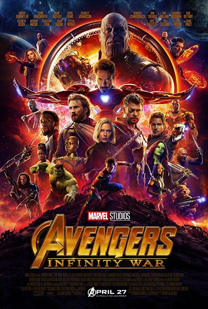 Avengers Infinity War (2018) [BluRay] [1080p] YIFY
