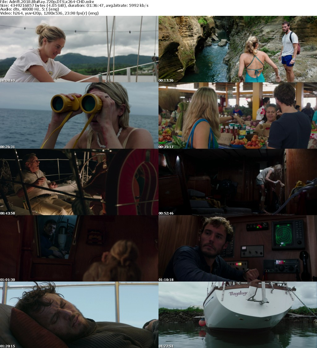 Adrift (2018) BluRay 720p DTS x264-CHD