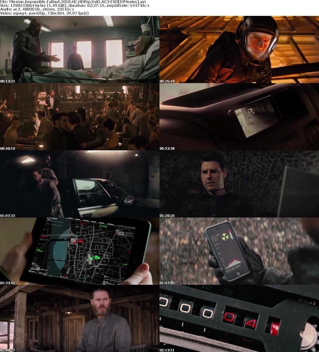 Mission Impossible Fallout 2018 HC HDRip XviD AC3-EVO[EtMovies]