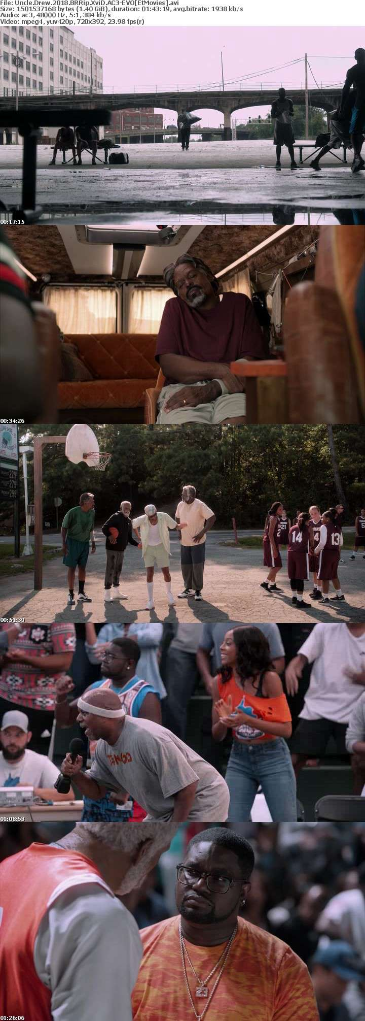 Uncle Drew 2018 BRRip XviD AC3-EVO[EtMovies]