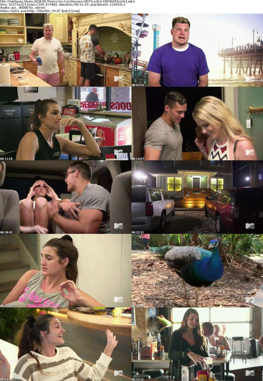 Floribama Shore S02E09 Theres No C in Disease HDTV x264-CRiMSON