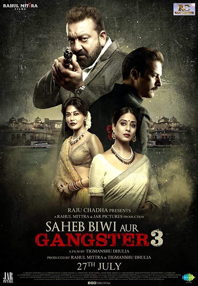 Saheb Biwi Aur Gangster 3 2018 WebRip Hindi 720p x264 AAC - mkvCinemas