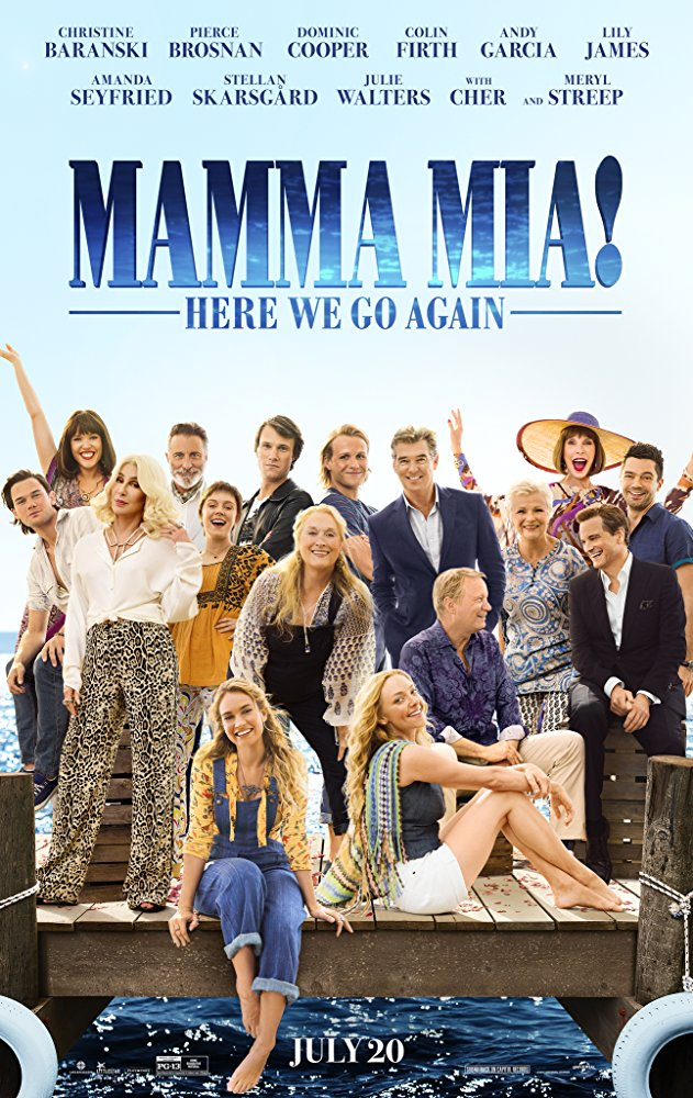 Mamma Mia Here We Go Again 2018 720p HC HDRip X264 AC3-EVO