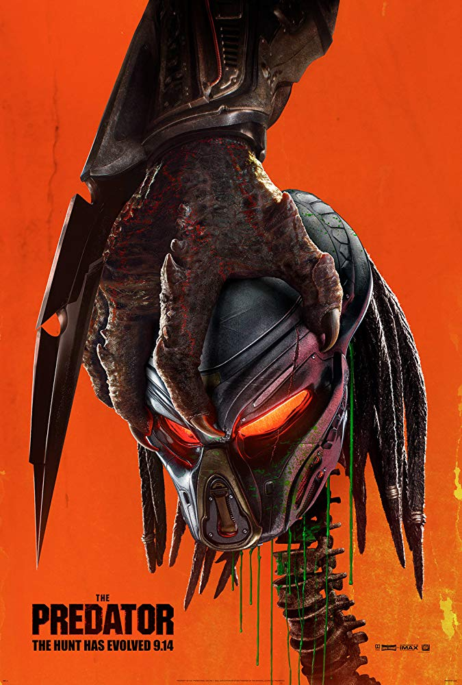 The Predator 2018 HDCAM NEWSRC XviD-AVID
