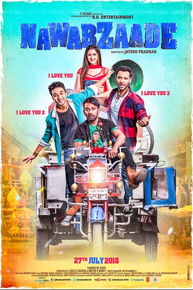 Nawabzaade 2018 Hindi 1080p WEB-DL DD 5 1 x264 ESub MW