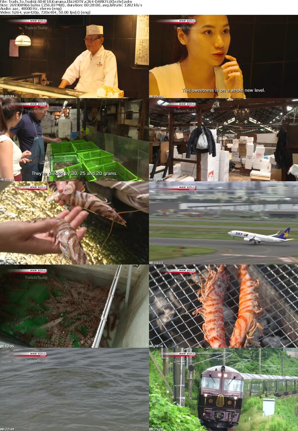 Trails To Tsukiji S04E18 Kuruma Ebi HDTV x264-DARKFLiX