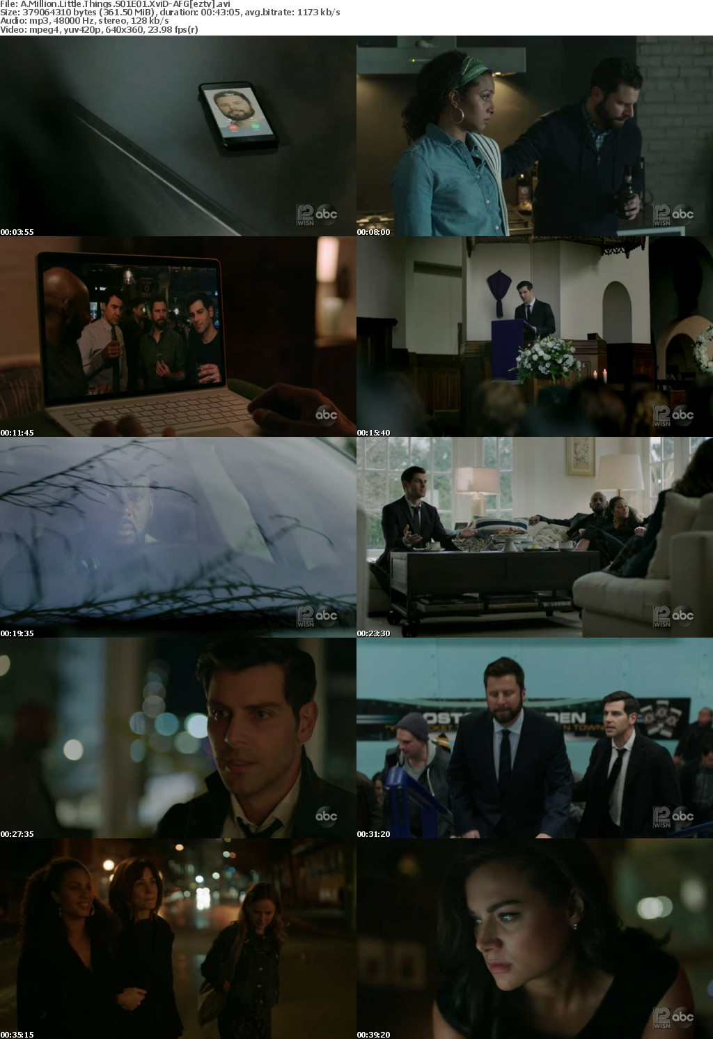 A Million Little Things S01E01 XviD-AFG